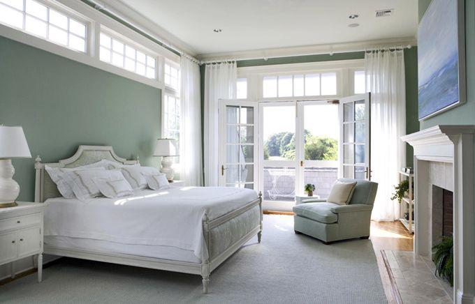 Transom Windows Over Bed Are Interesting Designer Janet Simon Bedrooms Pinterest Master