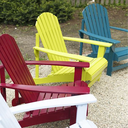 add colour to your outdoor furniture with a can or two of. Black Bedroom Furniture Sets. Home Design Ideas