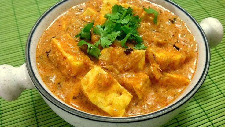 Panner es el queso indio, pero se puede substituir por el tofu (queso de soja), una elección más ligera y vegana. Esta receta es muy popular y original de Punjabi.