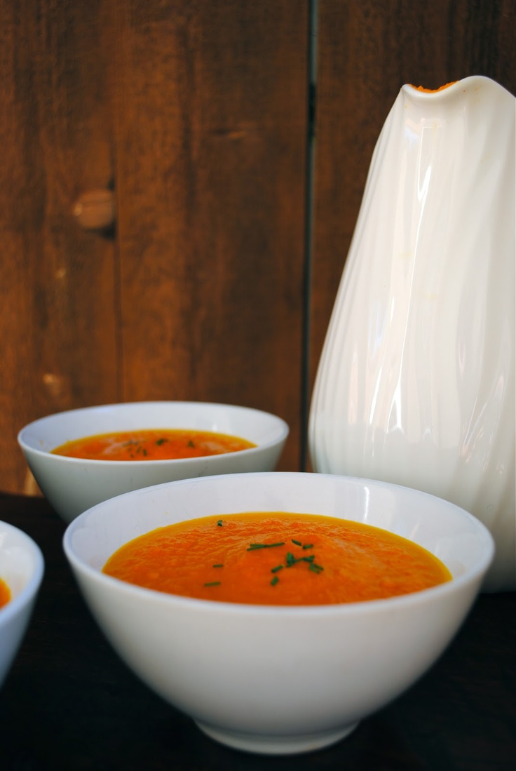 ... Homemade: The Silver Palate's Carrot and Orange Soup #fallfest