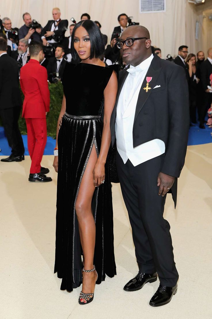 Image of Naomi Campbell, Edward Enninful