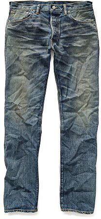 Ralph Lauren RRL Low-Straight Selvedge Jean