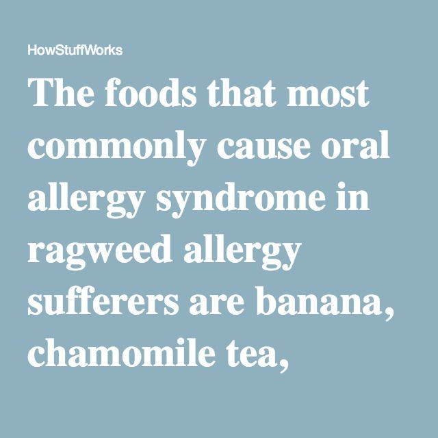 The foods that most commonly cause oral allergy syndrome in ragweed allergy sufferers are...