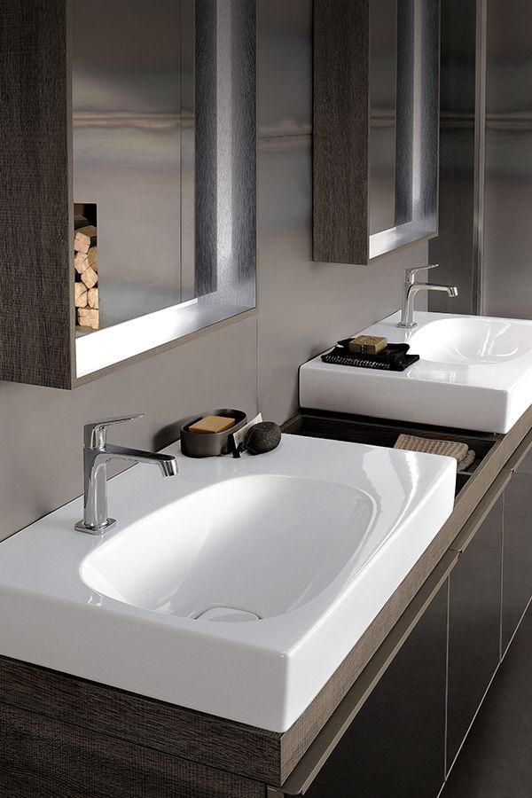 Moderne Waschbecken Furs Badezimmer Mit Passenden Badmobeln Einrichtungsideen Fur Moderne Badgestaltung Keramagcitterio Moderne Waschbecken Bad Waschbecken