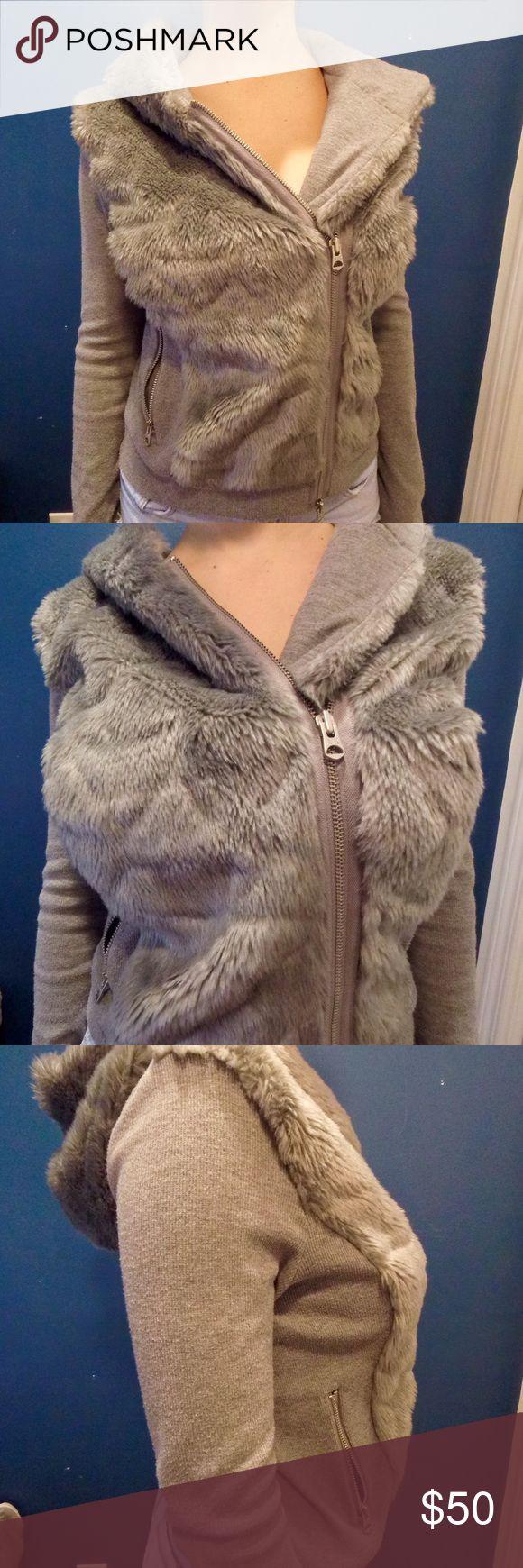 Spotted while shopping on Poshmark: Armani Exchange Fur Sweater! #poshmark #fashion #shopping #style #Armani Exchange #Sweaters