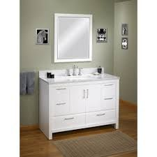 "If you were wondering which is the standard height of a regular bathroom vanity cabinet, that would be 32"", although the range can be anywhere from 30"" to 36"" or so. Nowadays, the modern units are taller, and they are named comfort height vanities"