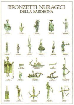 Bronzetti nuragici della Sardegna