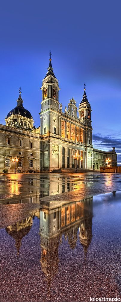 Almudena cathedral, Madrid.