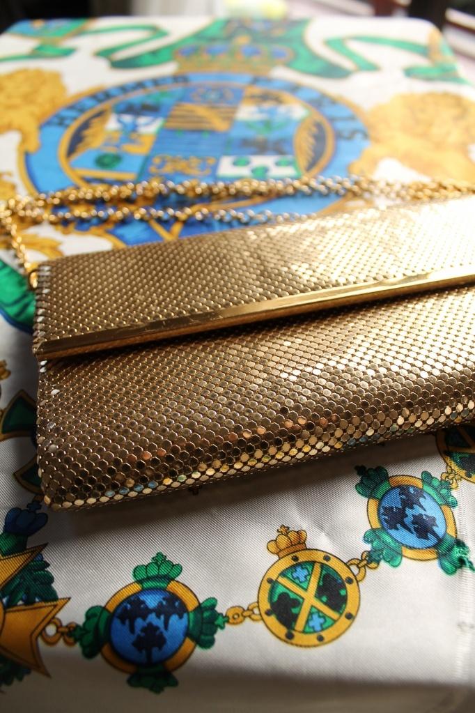Vintage Oroton Bag and Hermès Scarf