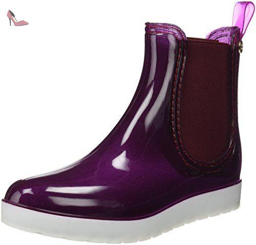Gioseppo  GODIN, bottes en caoutchouc femme - Violet - violet, 41 EU - Chaussures gioseppo (*Partner-Link)