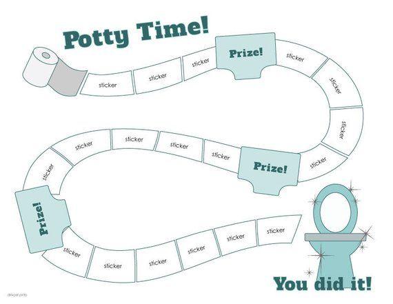 Princess Potty Toddler Kids Baby Toilet Trainer Potty Training Reward Chart