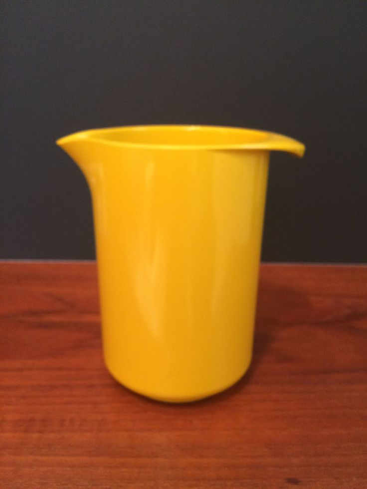 Rosti Denmark Utensil Cannister/Pitcher Yellow