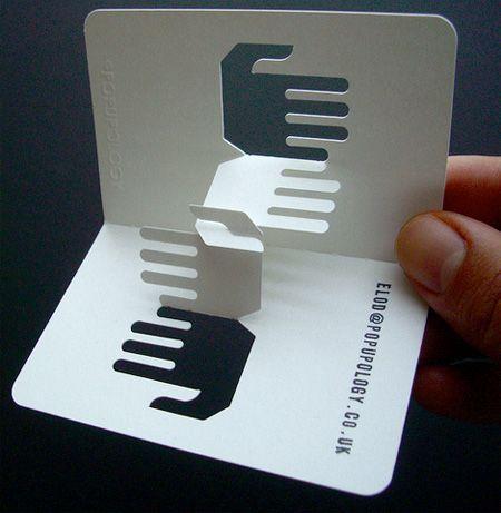 3D Business Cards Pop Up Cards