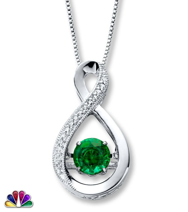 A complete set of beauty for the 'One' who completes your house; Emerald White G Pendant.