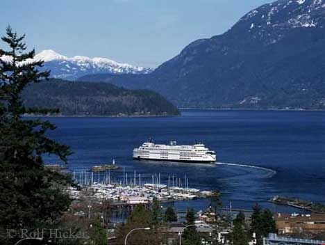 Vancouver Island and ferry