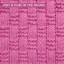 Knitting Blackberry Stitch In The Round : The 582 best images about Knitting on Pinterest Ribs, Knitting stitches and...