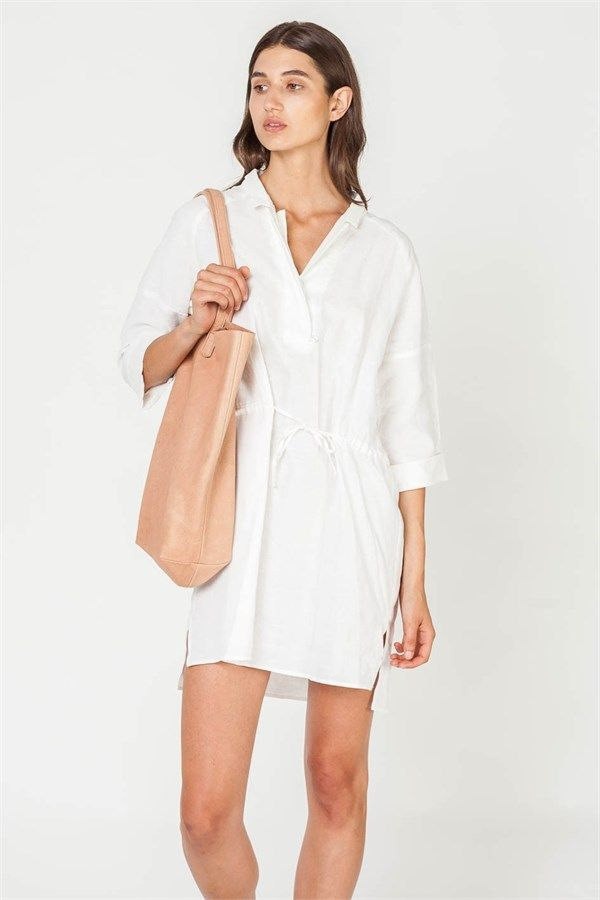 Artists Dress IN WHITE by Assembly Label