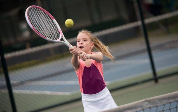 How To Teach Tennis Kids To Play Tennis Beginners Tennis Racquet Tennis Junior Children Tennis Outfit Ten Kids Tennis Tennis Lessons For Kids Tennis Camp