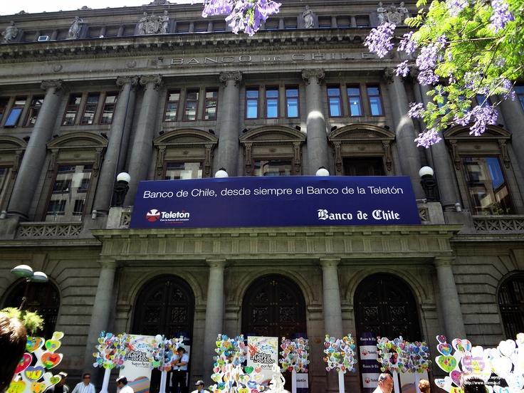 Banco de Chile desde siempre comprometidos con la Teletón