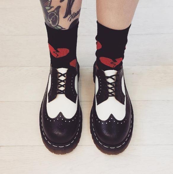 DOC'S & SOCKS: The 3989 Bex shoe, shared by circlyrae.