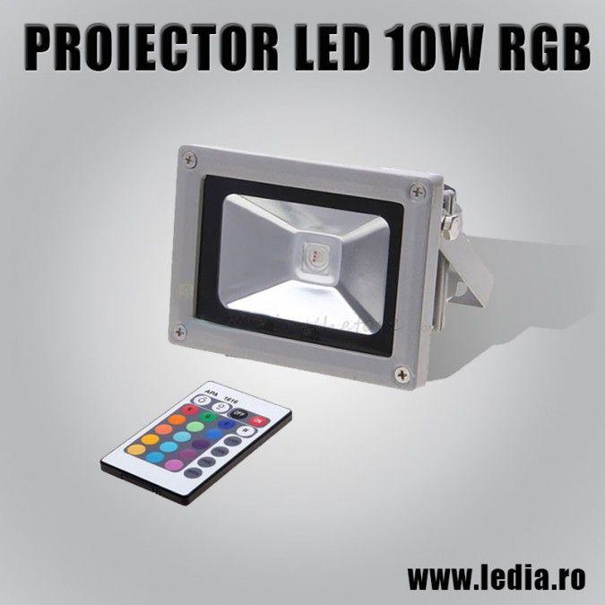 PROIECTOR LED 10W RGB