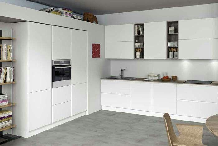Cucina Seta Essebi laccata bianca opaca