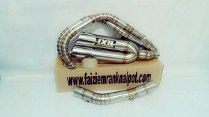 knalpot ixil ninja 250 fi