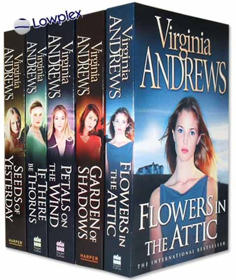 ✿ Flowers in the Attic Virginia Andrews Series ✿ ~ Thought these books were so risque as a teenager!!