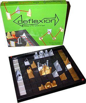 Deflexion:本物のレーザーを使う対戦ボードゲーム