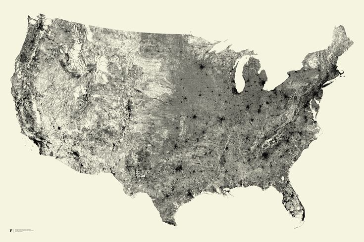 map of the US made up of roads *only*. by Fathom.: The Roads, Country Roads, America, Art, Basements Stairs, Poster, The Cities, U.S. States, United States