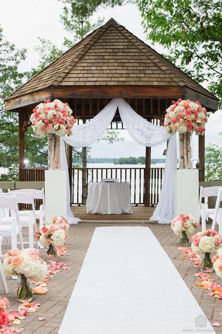 Lakeside Taboo Resort Wedding  Read more - http://www.stylemepretty.com/canada-weddings/ontario/muskoka/2014/01/28/lakeside-taboo-resort-wedding/