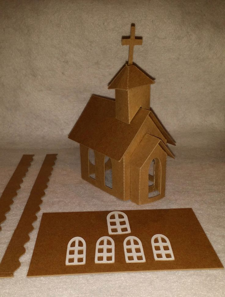 Mini Christmas Village Houses