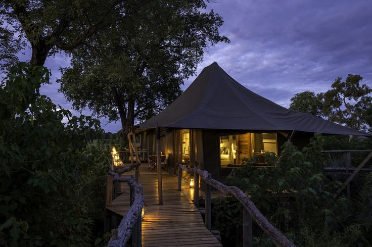 #Mombo Camp - The place of plenty - offering the best wildlife viewing in all of #Africa. A once in a lifetime #luxury African #safari experience.