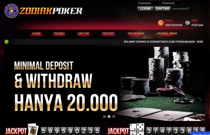 ZodiakPoker - Poker Online, Domino Online, Terpercaya