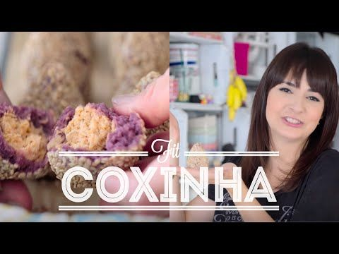 COXINHA FIT | RECEITAS FIT | Dani Noce - YouTube