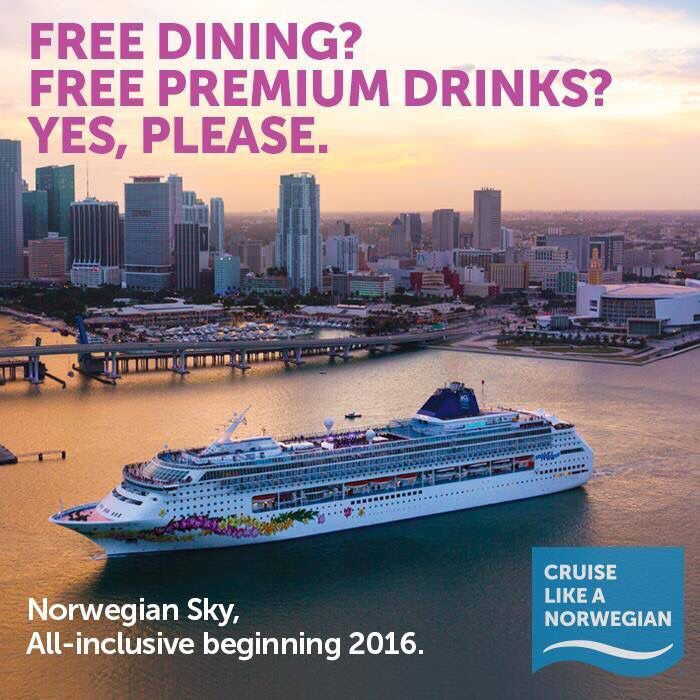 All Inclusive cruises are finally here ! - call Wendy@Bigworldtravel  587-404-0172