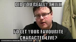 Anyone who's read Skulduggery Pleasant knows it's true. He will kill him! I know it!!!!