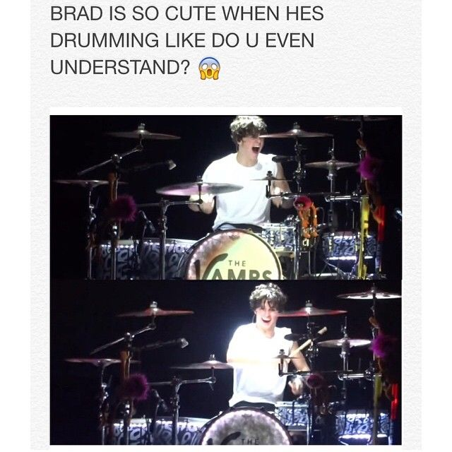 Finally someone else understands>> AND IN CONNOR'S LIVE COVER OF DEAR MARIA COUNT ME IN AND SUGAR WE'RE GOING DOWN LIKE THOSE ARE TWO OF MY FAVOURITE SONGS AND BRAD WAS ON THE DRUMS AND I MAY OR MAY NOT CRY EVERY TIME I WATCH IT BUT IT IS ONE OF MY FAVOURITE THINGS EVER THAT IS ALL OKAY BYE