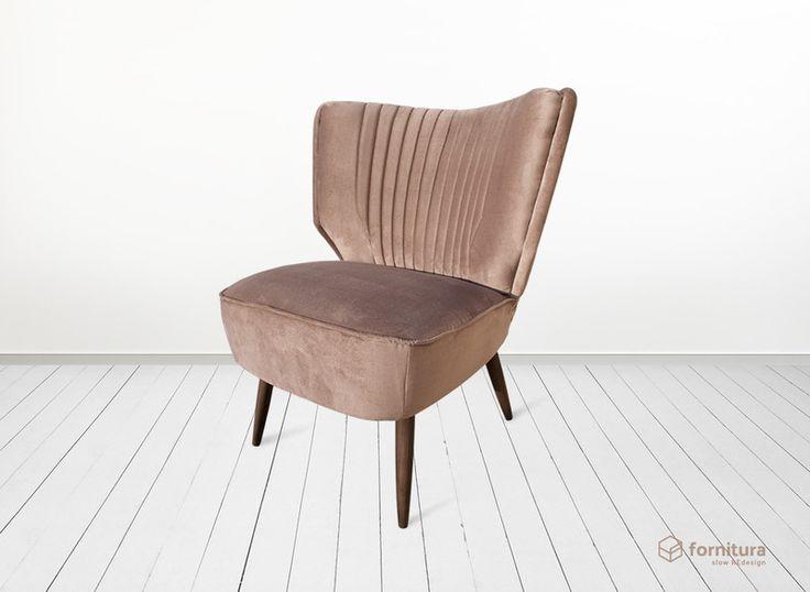 """Miech"" fotel klubowy lata 50-te w Fornitura na DaWanda.com"