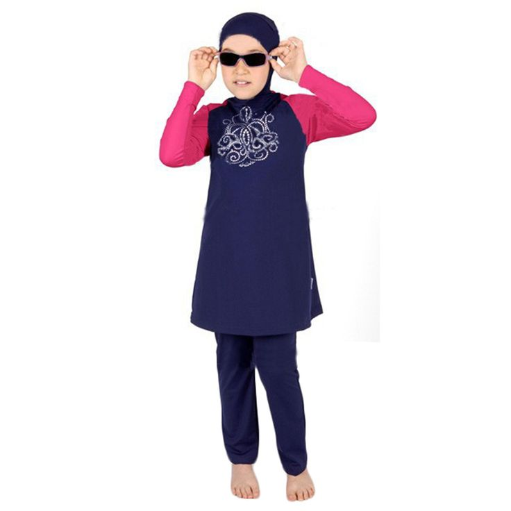 Children swimsuit biquini infantil girls swimwear swimwear for girls Muslim Swimwear kids swimwear moda praia infantil plus size Puasa * AliExpress Affiliate's Pin.  Find out more by clicking the VISIT button