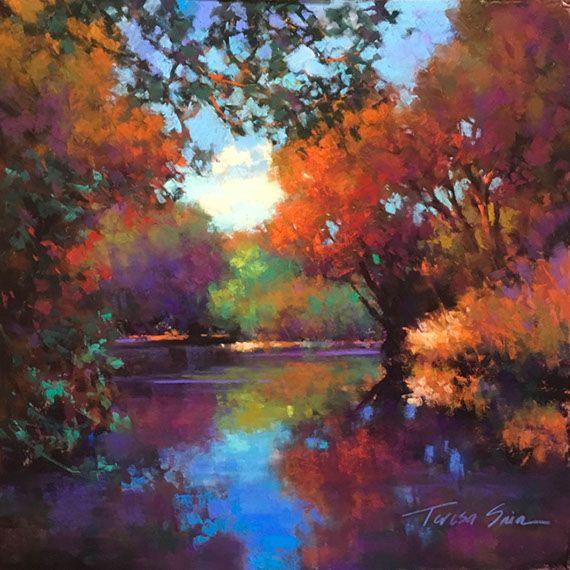 Teresa Saia En 2020 Inspiration Peinture Artiste Paysage