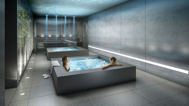 Hot and Cold Plunge Pools  Link2 Condos + Lofts by Adi Development Group www.adidevelopments.com