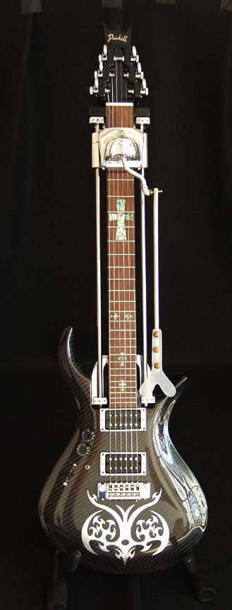 Driskell guitar for quadriplegic