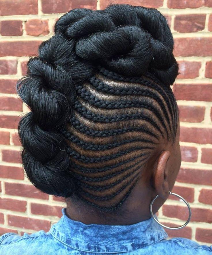 Sensational 1000 Ideas About Natural Braided Hairstyles On Pinterest Short Hairstyles Gunalazisus