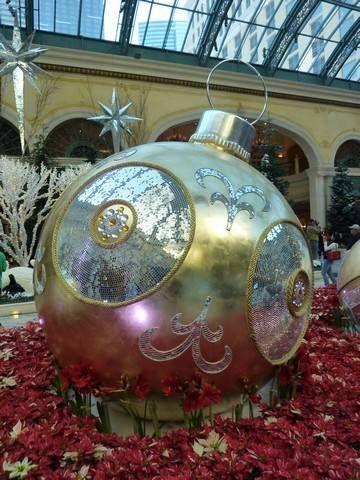 Christmas in Las Vegas at the Bellagio Hotel