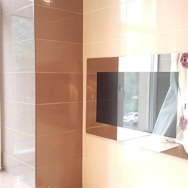 #waterprooftv #bathroom #bathroomtv #kitchentv #kitchen #mirrortv #mirrortvs #showertv #bathtv #tvinmirror #tvinmirrors #tvinmirrorbathroom #buildintv #buildintvs #bathroomtelevision