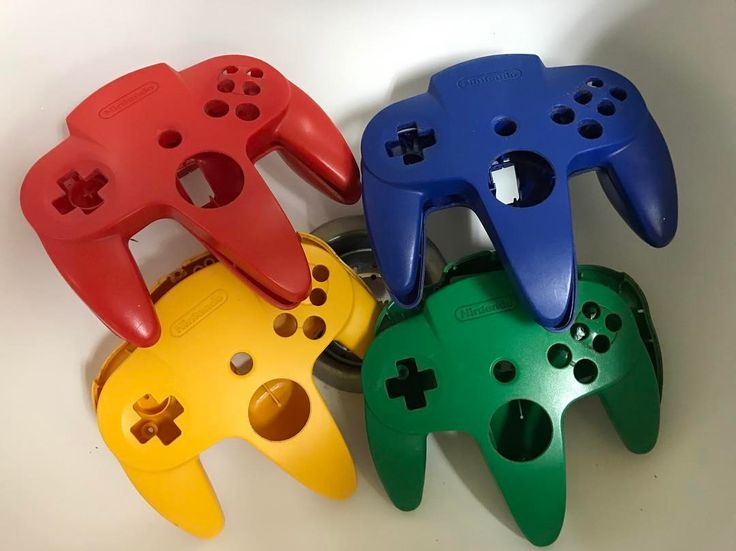 We have so many colours of original N64 controllers! Come see our selection...