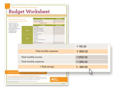 62 best budget images on Pinterest Frugal, Money savers and - budget worksheet in pdf
