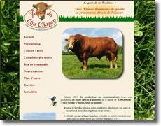 Vendée 85 Vente Directe Viande Boeuf Race Limousine