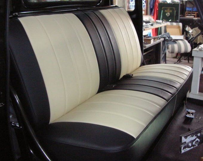 The Bonnie And Clyde Custom Car Upholstery Cover 1940 S 1950 S 1960 S 1970 S 1980 S All Years C10 First Series Chevy Gmc Truck Bench Uphol Car Upholstery Truck Interior Gmc Trucks